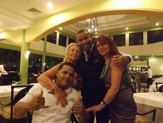 Grand Palladium Punta Cana Resort & Spa: IN THE MAIN DINING ROOM