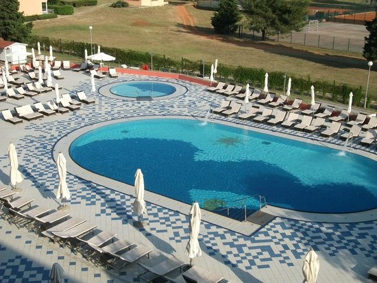 Park Plaza Medulin: Pool view from 3rd floor room