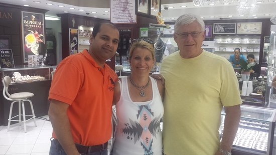 Imperial Jewelers: NIck, Jackie, and my husband Mike