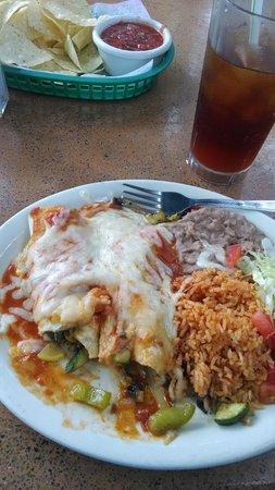 Casa Rio: Veggie Enchiladas