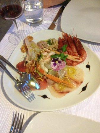 Ristorante La Zagara: Seafood antipasti