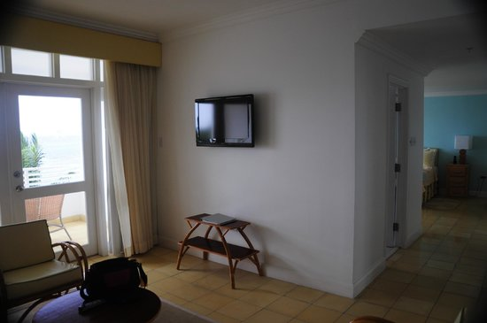 Couples Tower Isle: The sitting room in the one bedroom suite.