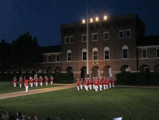 U.S. Marines Sunset Parade : Friday sunset parade