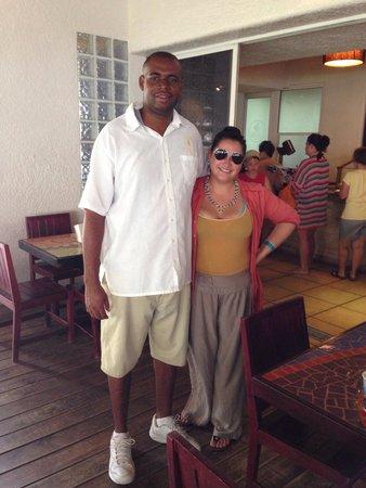 Mayan Princess Beach & Dive Resort: Balam restaurant :)