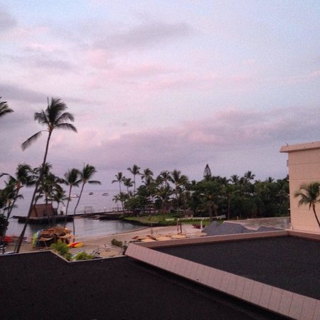 Courtyard by Marriott King Kamehameha's Kona Beach Hotel: 4階からの景色だよ(^ ^)