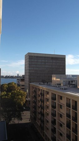 All Suites Perth: View from One-Bed Apartment
