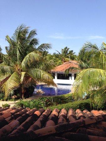 Mayan Princess Beach & Dive Resort: Vista desde la terraza