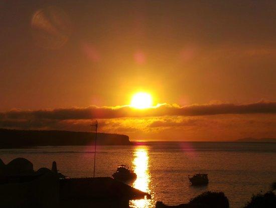 Hotel Solymar: Nascer do sol em Galápagos - Vista do quarto do Hotel