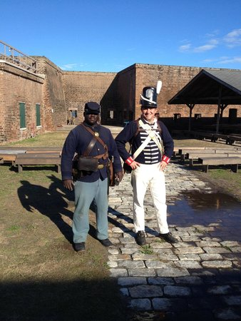 Old Fort Jackson: These guys bring history alive!