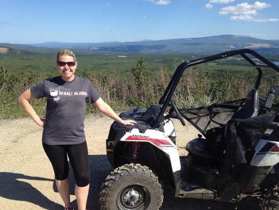 Denali ATV Adventures : This is the new Ace ATV. So much fun!!!!