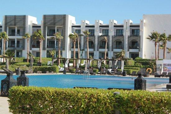Sofitel Agadir Thalassa Sea & Spa : Der Poolbereich - schöner geht's nicht