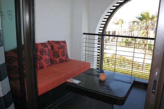 Sofitel Agadir Thalassa Sea & Spa : Der Balkon