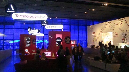 Science Museum: setor tecnológico