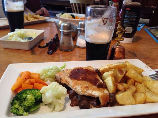 Green Pea: Pie & Guiness
