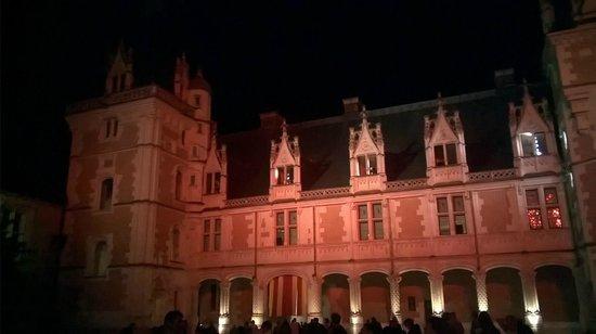 Chateau Royal de Blois: Le château durant le spectacle