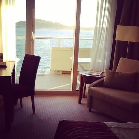 Hotel Croatia Cavtat : Seaview room