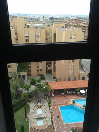 Saray Hotel: vista desde los ventanales de los pisos altos