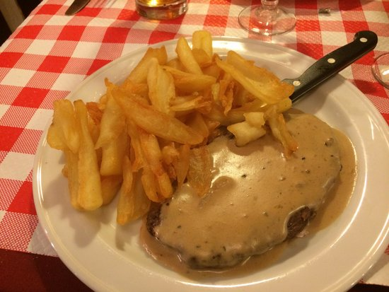 L' Auberge St-Severin: Best meal in steak with an amazing price!