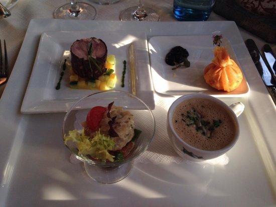 Rebstock Waldulm: Meli melo d'entrées : premier plat du menu gourmet
