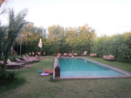 La Ferme Berbère : la piscine