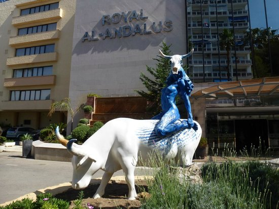 Royal Al-Andalus: Front of Hotel
