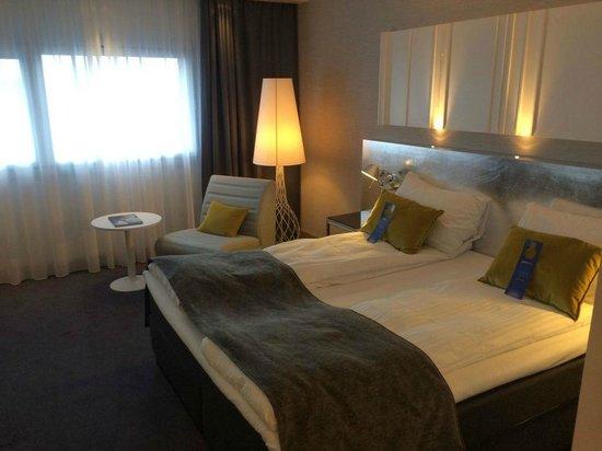 Radisson Blu Airport Hotel, Oslo Gardermoen: sehr bequemes Bett