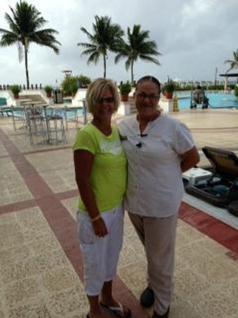 The Royal Playa del Carmen: Ivonne, the Best Beach Butler