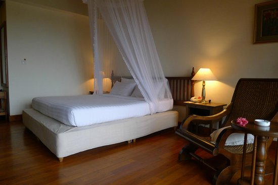 Inle Lake View Resort & Spa : Very comfortable bed