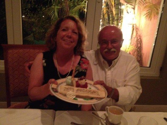 Royal Palms Hotel: dinner