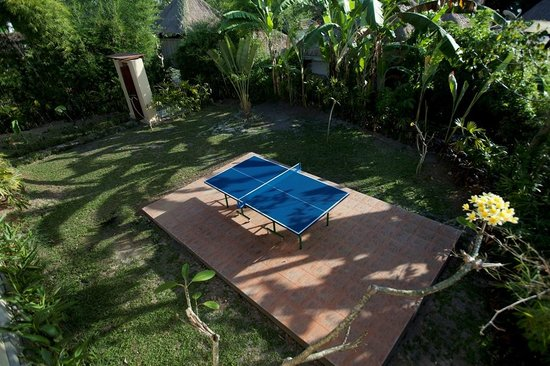 Villa Nirvana Bali: There's a table-tennis area in one of the gardens