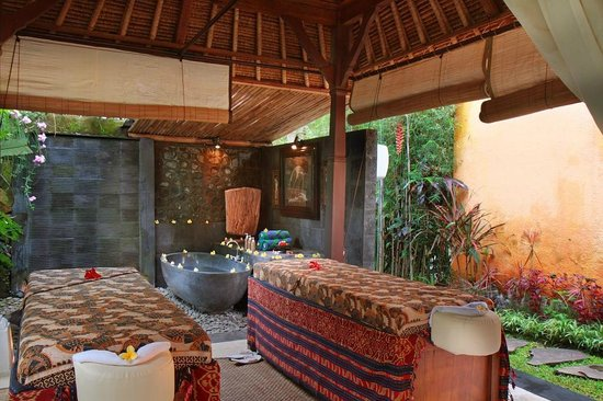Villa Nirvana Bali: A view of the spa which offers massages and beauty treatments