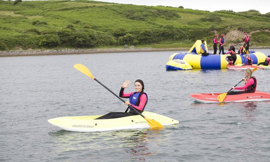 The Adventure Islands : kayaking in Clew Bay