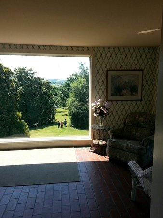 Milky Way Farm: Beautiful view from a sitting room upstairs