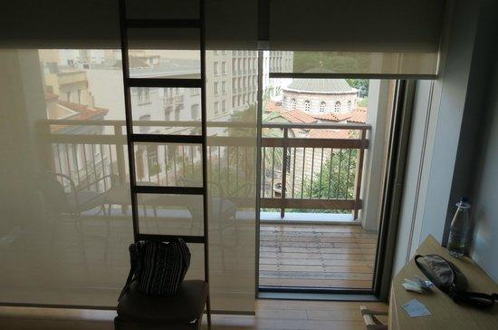New Hotel: vista stanza Nr. 406