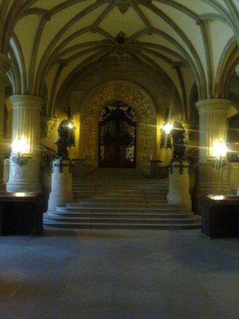 Rathaus: La porta che conduce all'ufficio del sindaco