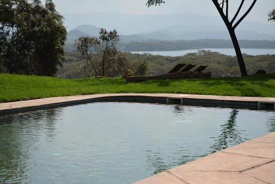 Kiangazi House: Beautiful view from the pool