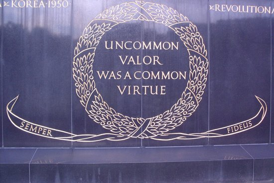 U.S. Marine Corps War Memorial: Uncommon Valor, Common Virtue