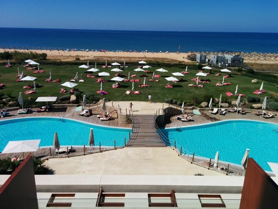 Crowne Plaza Vilamoura - Algarve : Pool View From Balcony