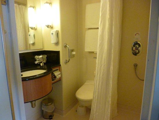 P&O Ferries - Day Trips : Premier Cabin Washroom
