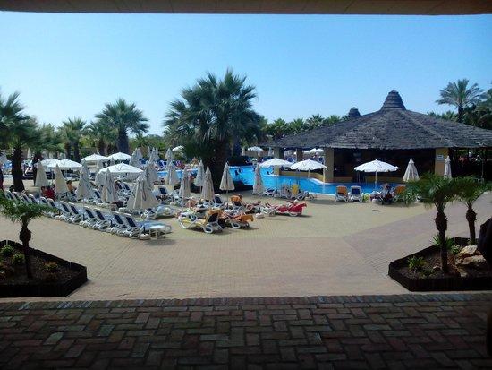 Iberostar Isla Canela: chiringuito y piscina