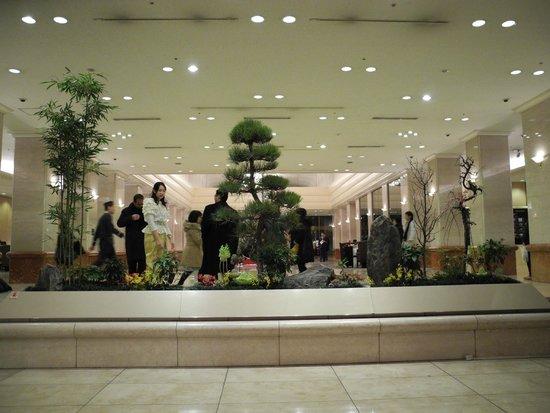 Keio Plaza Hotel Tokyo: Lobby area