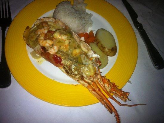 Sol Rio de Luna y Mares : Lobster dinner