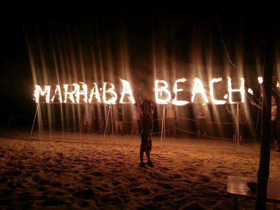 Marhaba Beach Hotel: Beach party June 2014