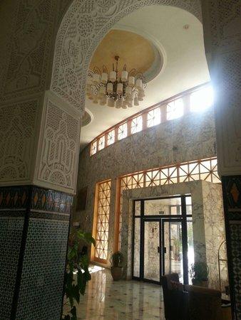 Marhaba Beach Hotel: Main entrance