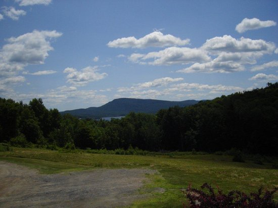 Melody Lodge : view from the patio