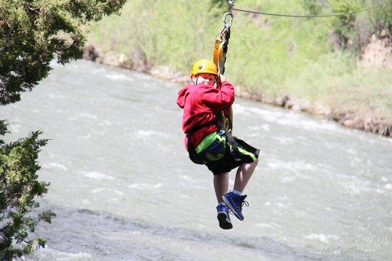Moonlight Basin Resort: Ziplining
