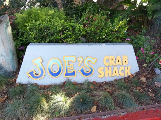 Joe's Crab Shack: out front to welcome you