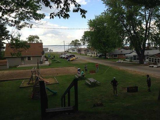 American Oak Resort : View from cabin 4