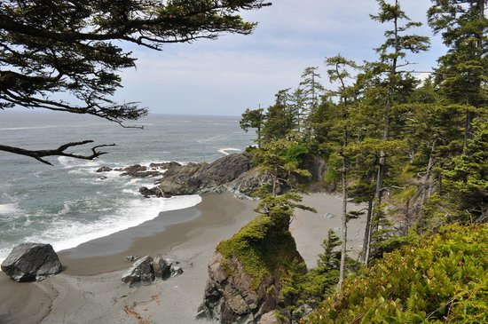 West Coast Trail: Secluded beach