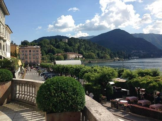 Hotel Florence: Lake Como from terrace